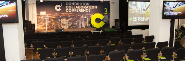 c3 conductor collaboration conference audio visual and event design