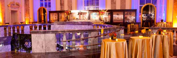 Tailored Hospitality Services for upscale top tier event at Museum of American Finance in NYC