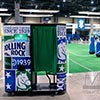 Rolling Rock photobooth provides digital engagement at custom football sporting event