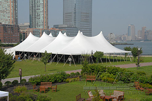 event tenting for corporate picnic