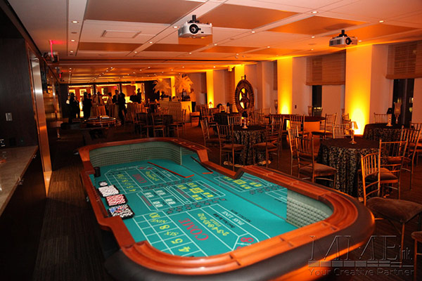 Casino table rental available for NYC events
