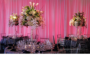 Expert Floral Design services for NYC Wedding