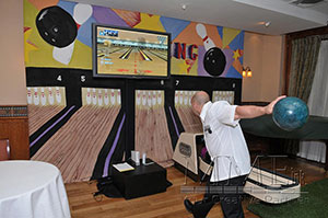 interactive wii bowling game rental